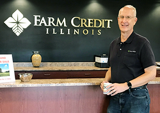 Brian Wright Retires from Farm Credit Illinois