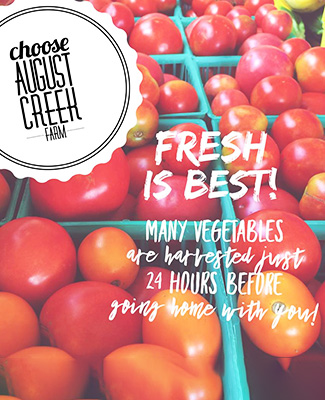 August Creek Farms Fresh Produce