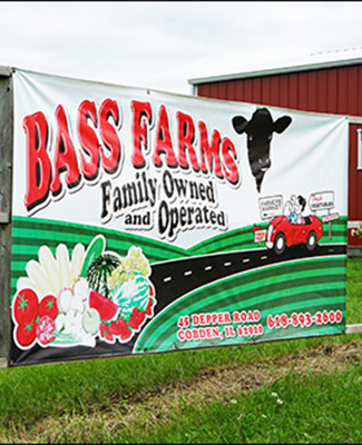 Bass Farms in Cobden, Illinois