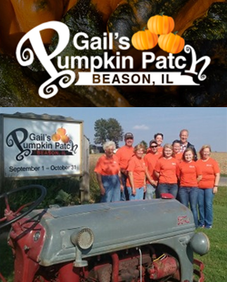 Gail's Pumpkin Patch in Beason Illinois